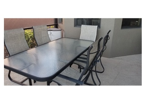 Patio Table and 5 chairs